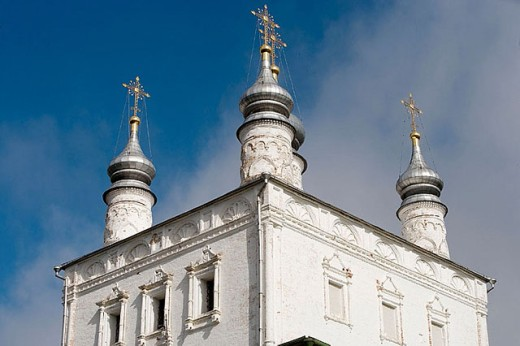 Church of All Saints, Goritsky Monastery (17th-18th centuries), Pereyaslavl-Zalessky. Golden Ring, Russia : Stock Photo