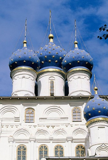 Stock Photo: 1566-296286 Church of Our Lady of Kazan (1649-50), Kolomenskoye. Moscow, Russia