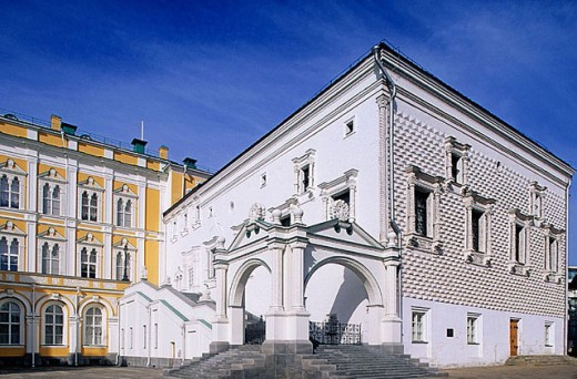 Stock Photo: 1566-296433 Palace of the Facets, Kremlin. Moscow, Russia