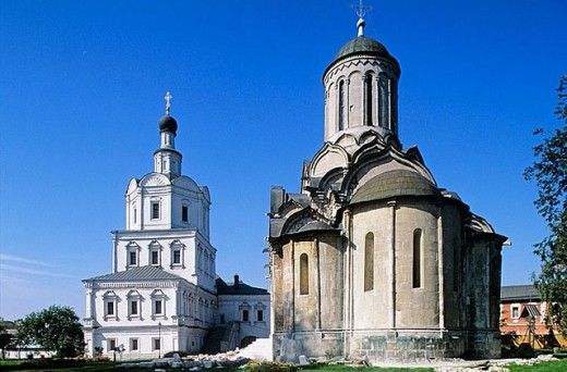 St. Andronik Monastery, Moscow. Russia : Stock Photo