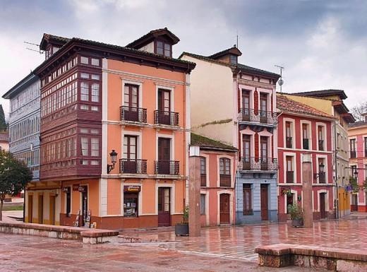 Stock Photo: 1566-296582 Plaza del Ayuntamiento. Nava. Asturias. Spain.