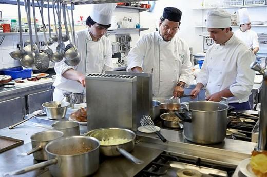 Stock Photo: 1566-297099 Luis Irizar Cooking School, Donostia, San Sebastian, Gipuzkoa, Euskadi. Spain.