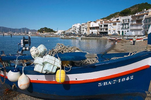 Stock Photo: 1566-297656 Port de la Selva. Cap de Creus National Parc. Alt Empordà. Girona Province. Catalonia. Spain