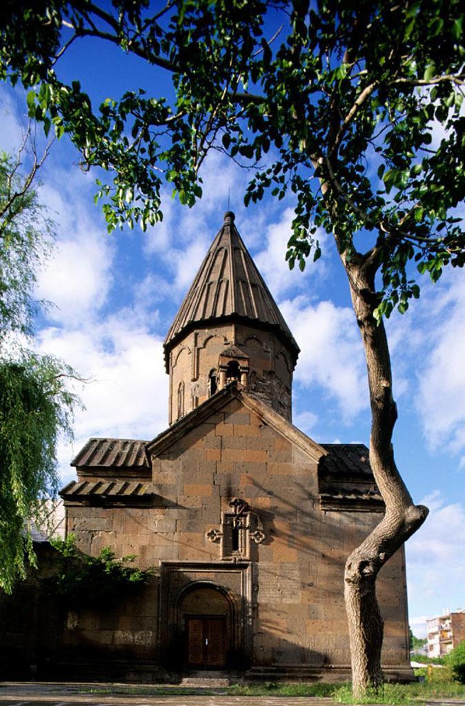 Mariane Church (1281) in Ashtarak. Armenia : Stock Photo