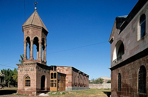 Catholic church in Panik. Armenia : Stock Photo