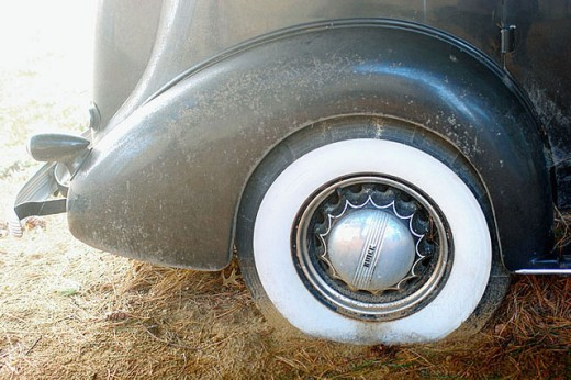 Stock Photo: 1566-301957 Antique Buick car