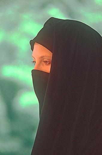 A muslim portrait : Stock Photo