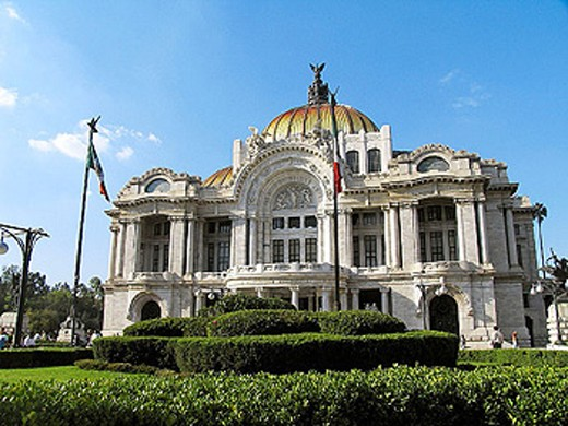 Palacio de Bellas Artes, Mexico City. Mexico D.F., Mexico : Stock Photo