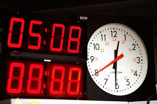 Timer and clock : Stock Photo