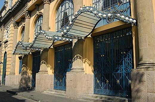 Teatro de la Ciudad theatre, Mexico City. Mexico : Stock Photo