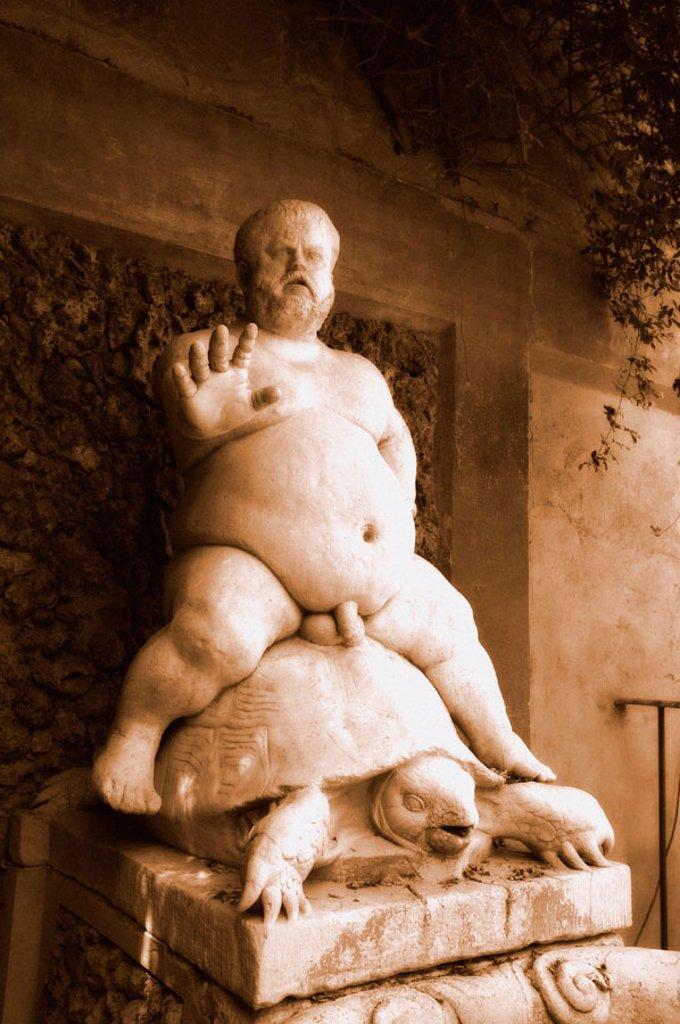 Nano Morgante, Boboli Gardens, Florence, Tuscany, Italy : Stock Photo