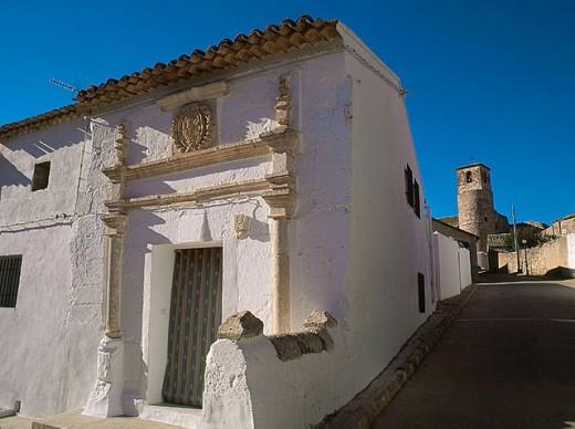 Stock Photo: 1566-306554 Castillo de Garcimuñoz. Cuenca province, Castilla-La Mancha, Spain