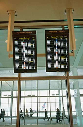 Stock Photo: 1566-311661 Pearson airport, Toronto. Ontario, Canada