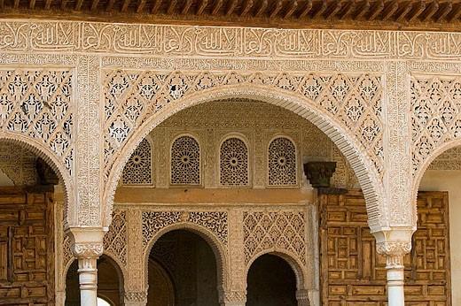 Stock Photo: 1566-312204 Generalife. La Alhambra. Granada. Andalusia. Spain