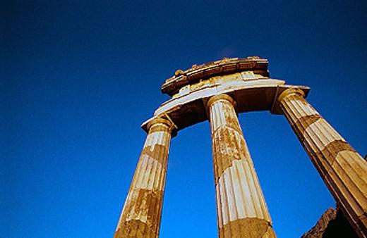 The Tholos. Delphi. Greece. : Stock Photo