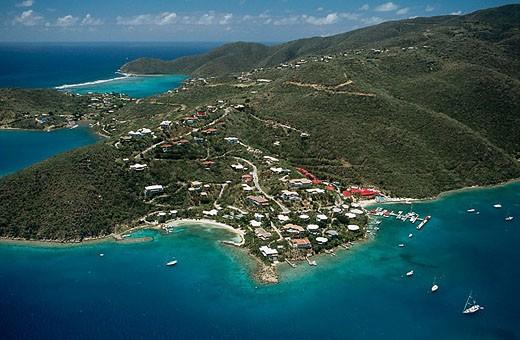 Leverick Bay. Virgin Gorda Island. British Virgin Islands. West Indies. Caribbean : Stock Photo