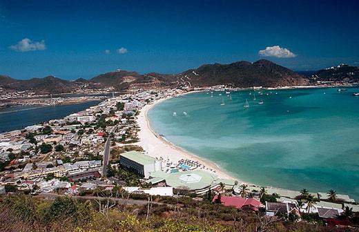 Philipsburg. Sint Maarten. Netherlands Antilles : Stock Photo