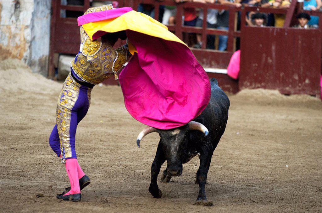 Stock Photo: 1566-317962 Bullfight.