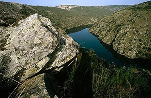Arribes del Duero, Zamora province, Spain : Stock Photo