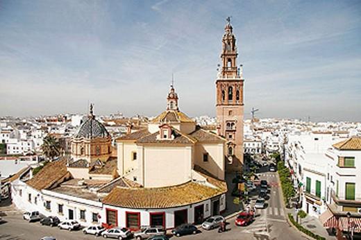 Stock Photo: 1566-320386 St. Peter´s church. Carmona. Sevilla province. Andalucia. Spain.