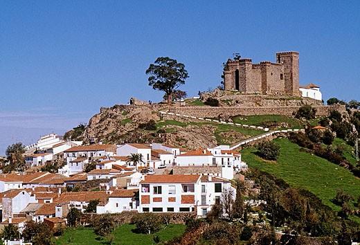Stock Photo: 1566-321068 Cortegana. Huelva province, Andalusia, Spain