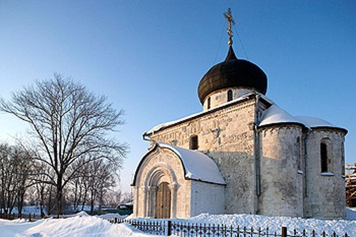 Stock Photo: 1566-321300 Cathedral of St George, 1234. Yuriev Polskoy. Golden Ring, Russia