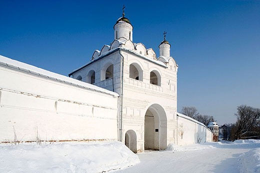 Convent of the Intercession founded in 1364, Suzdal. Golden Ring, Russia : Stock Photo