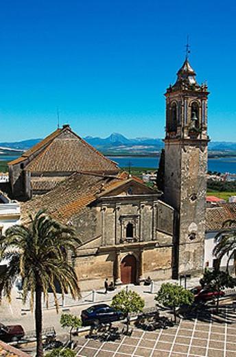 Iglesia Santo Domingo de Guzman. Arcos de la Frontera. Bornos. Cadiz province. Andalucia. Spain. : Stock Photo