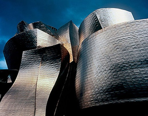 Guggenheim Museum, Bilbao. Biscay, Euskadi, Spain : Stock Photo