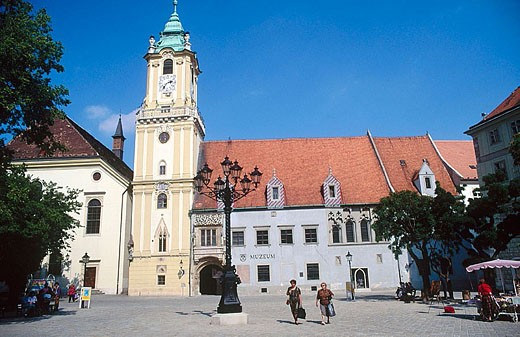 Stock Photo: 1566-323509 Old Town Hall, Bratislava. Slovakia