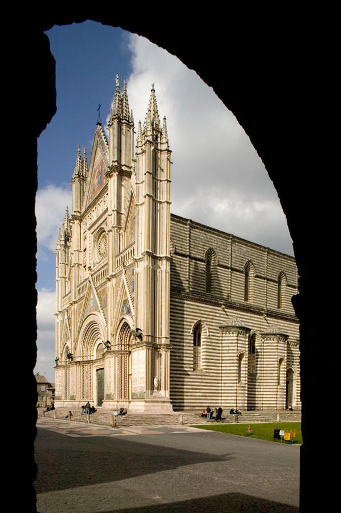 Duomo of Orvieto. Umbria. Italy : Stock Photo