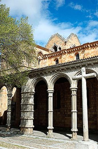 Stock Photo: 1566-325805 Basilica de San Vicente. Ávila. Castilla y Leon. Spain.