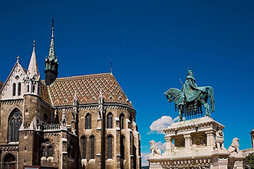 Stock Photo: 1566-326132 Matthias Church (13th-15th century), Budapest. Hungary