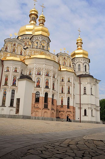 Stock Photo: 1566-329795 Cathedral of the Dormition, Lavra, Kiev, Ukraine