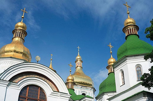 Cathedral of St. Sophia (11 century), Kiev, Ukraine : Stock Photo