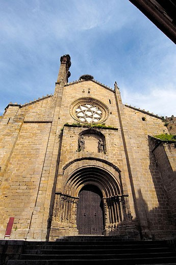 Old cathedral, Plasencia. Cáceres province, Extremadura, Spain : Stock Photo