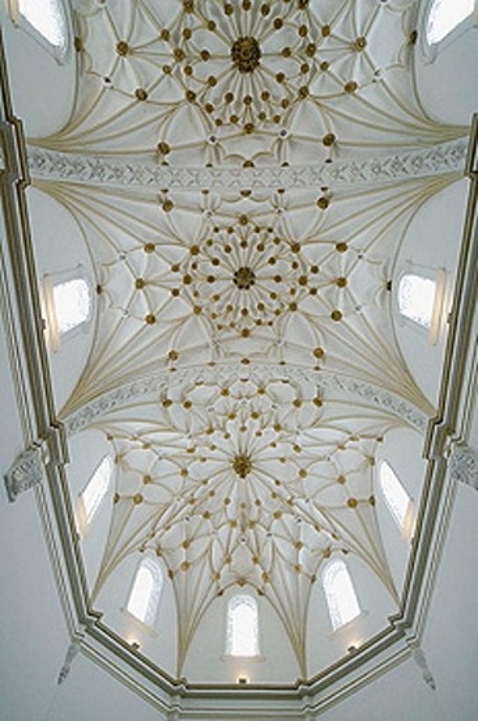Stock Photo: 1566-331113 Vault of Santo Domingo church. Alcañiz. Teruel. Aragón. Spain.