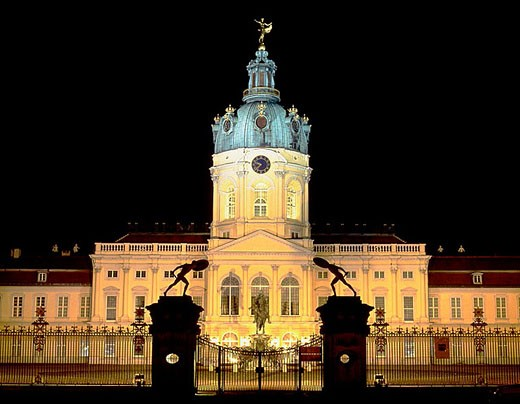 Germany, Berlin, Charlottenburg Castle : Stock Photo