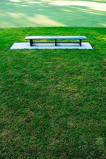 park bench : Stock Photo