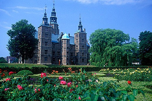 Rosenborg castle, Copenhagen, Denmark. : Stock Photo