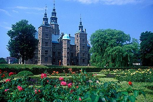 Stock Photo: 1566-333983 Rosenborg castle, Copenhagen, Denmark.