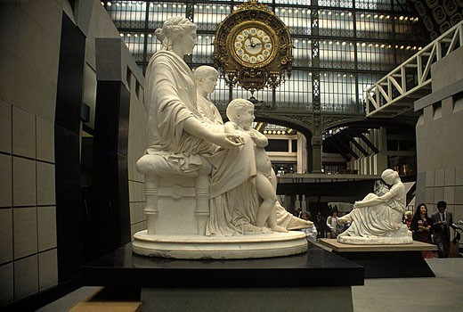 Musee d´orsay, Paris, France. : Stock Photo