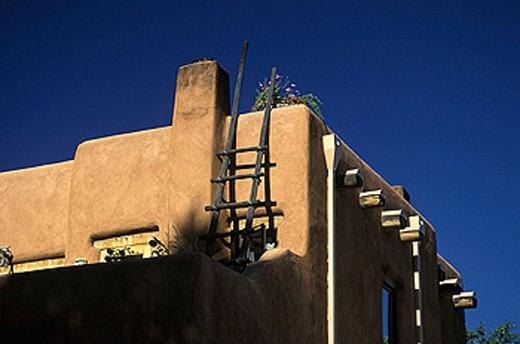 Stock Photo: 1566-334512 Architecture, Santa fe, New mexico, USA.