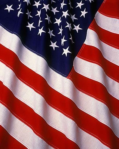United states flag. : Stock Photo