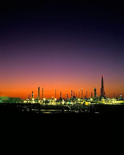 Refinery. : Stock Photo