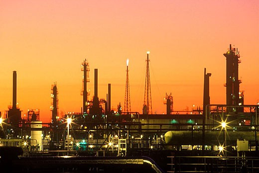 Refinery. : Stock Photo