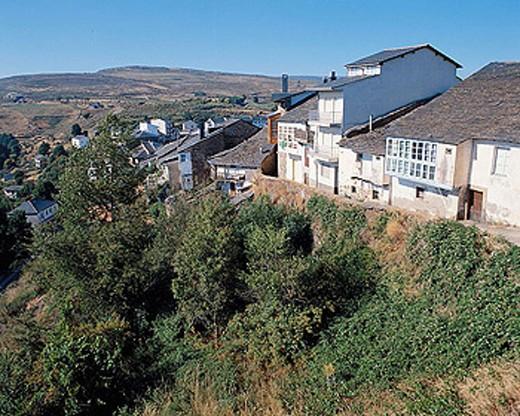 Puebla de Sanabria. Zamora province, Castilla-León, Spain. : Stock Photo