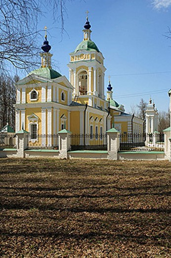 Stock Photo: 1566-337330 Church of St. John (1767), Bogoslovskoe-Mogiltsy, Moscow region, Russia