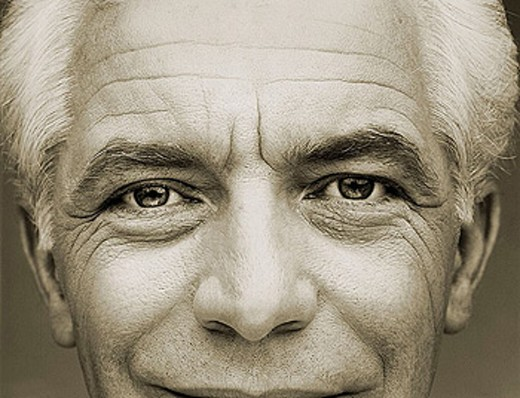 Stock Photo: 1566-337889 Sepia of close-up of 60 year old Caucasian man, including nose, eyes and forehead