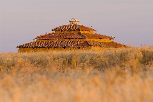 Stock Photo: 1566-338040 Dovecote. Villamayor de Campos. Zamora province, Castilla-León, Spain.